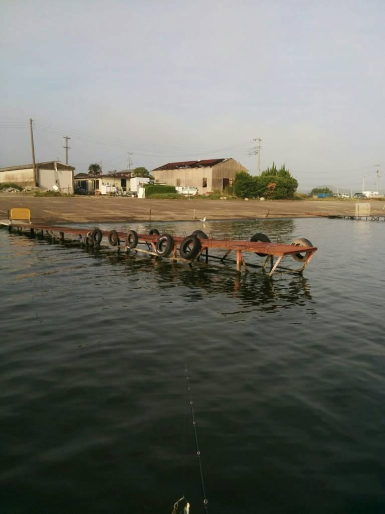 潮来マリーナの桟橋