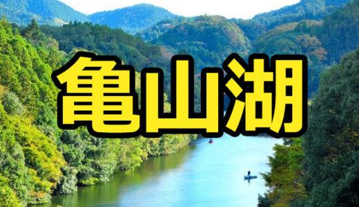 亀山湖のレンタルボートまとめ!免許不要艇・金額・特徴を調べました