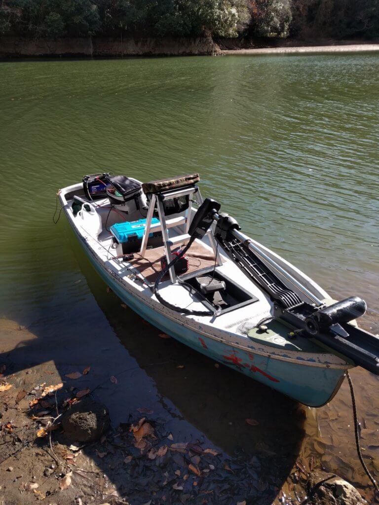 ボートの準備完了