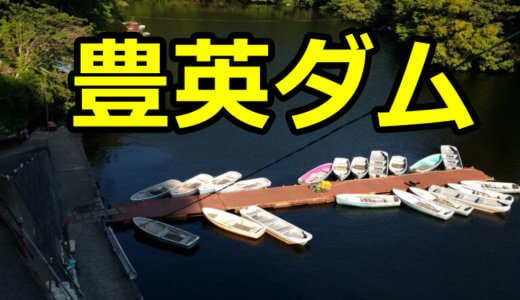 【1店舗】豊英(とよふさ)ダムのレンタルボート店! 釣果記録も合わせてまとめました【バス釣り】