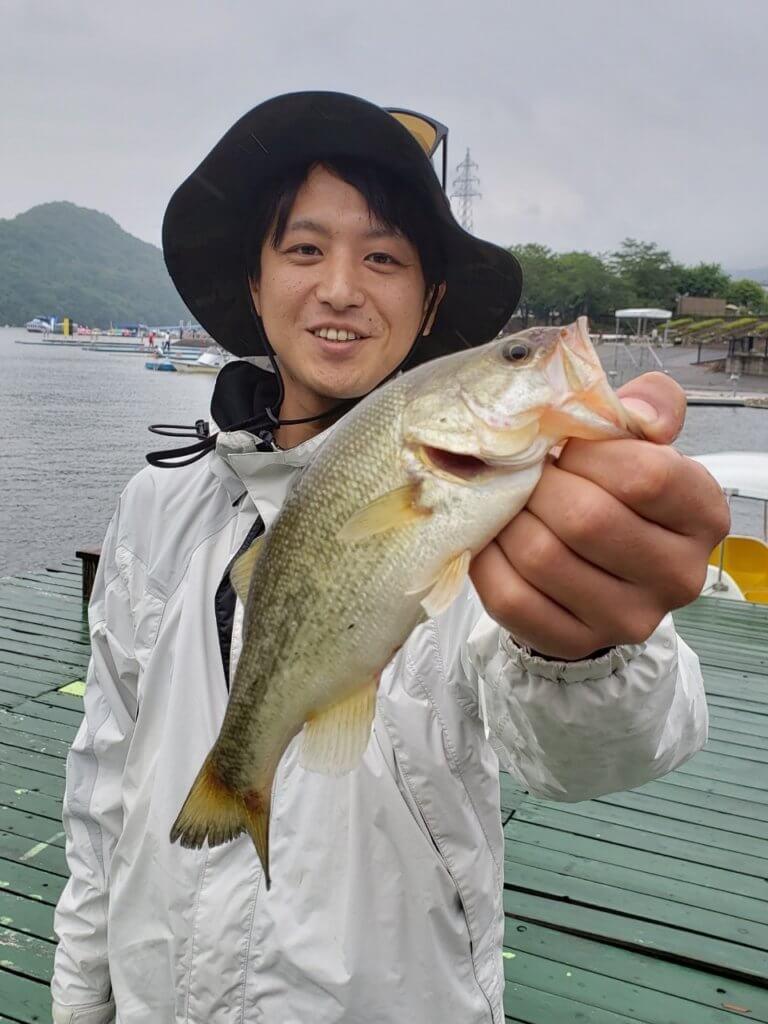 相模湖で釣ったブラックバス