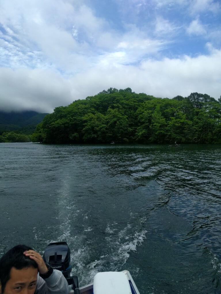 午後の釣りへ