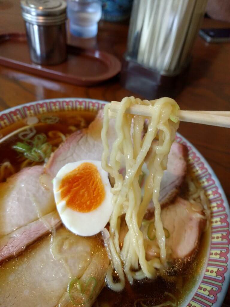 すずきのラーメンの麺