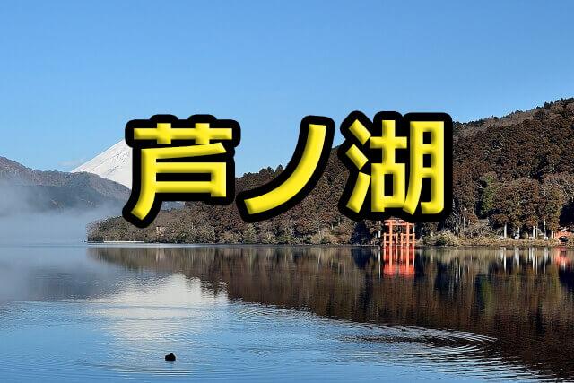 芦ノ湖のレンタルボート