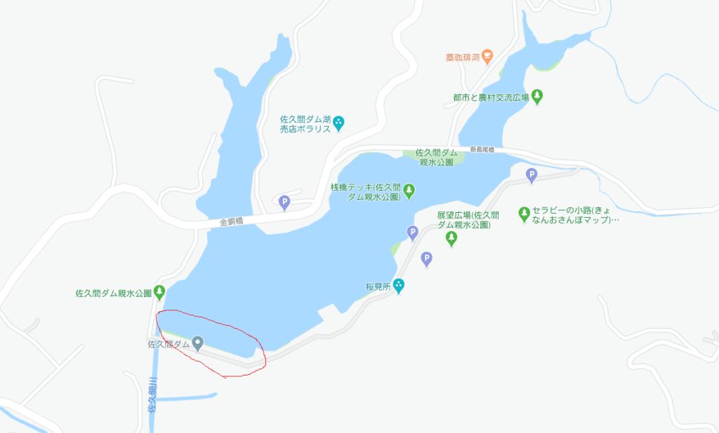 佐久間ダムサイト