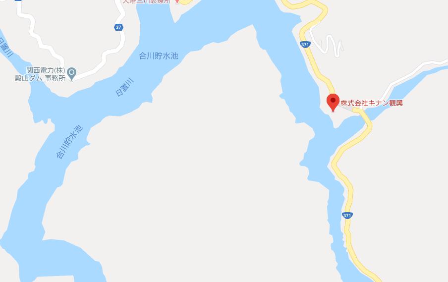 合川ダムのレンタルボート