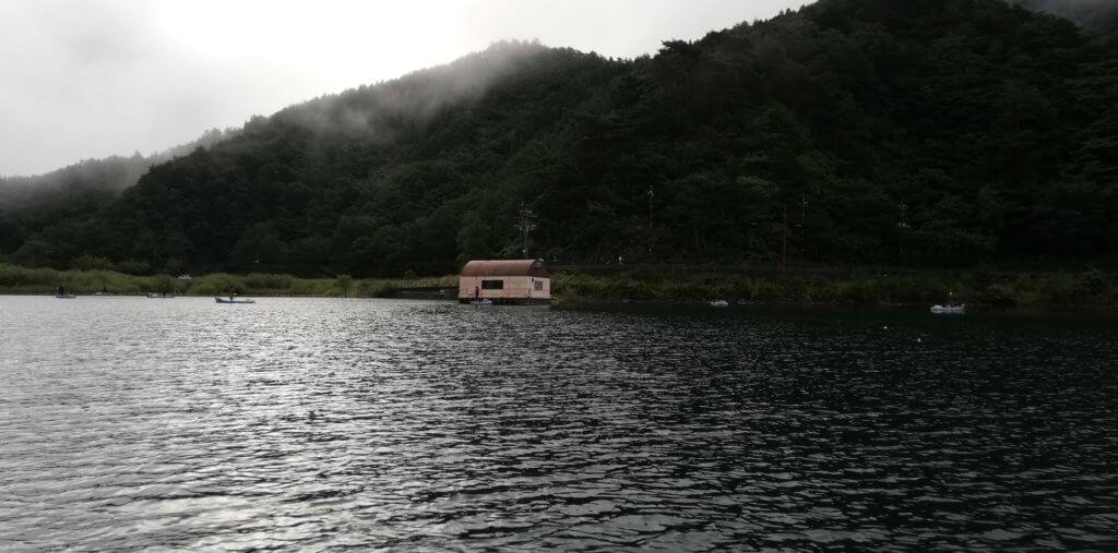 西湖のポンプ小屋