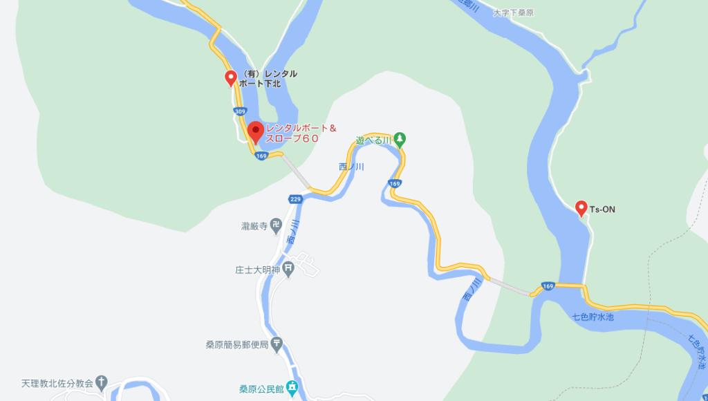 七色ダムのレンタルボート:rokumaru