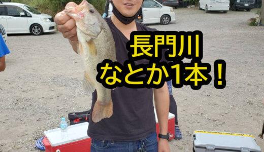 苦手な長門川バス釣り釣果報告!めちゃくちゃ厳しかったけどなんとか1匹釣れました!