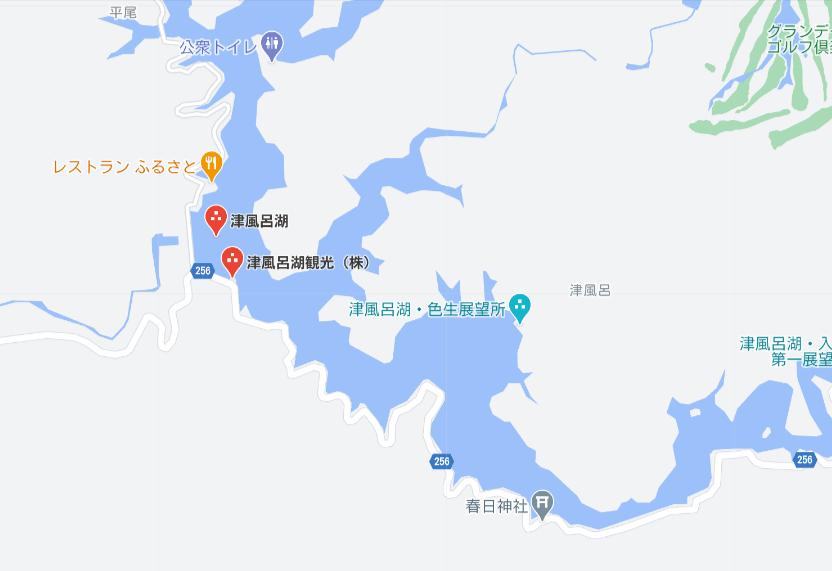 津風呂観光