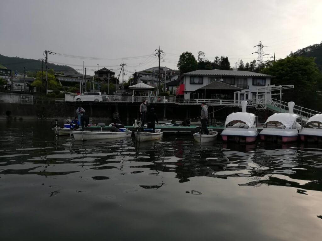 朝一の相武ボート