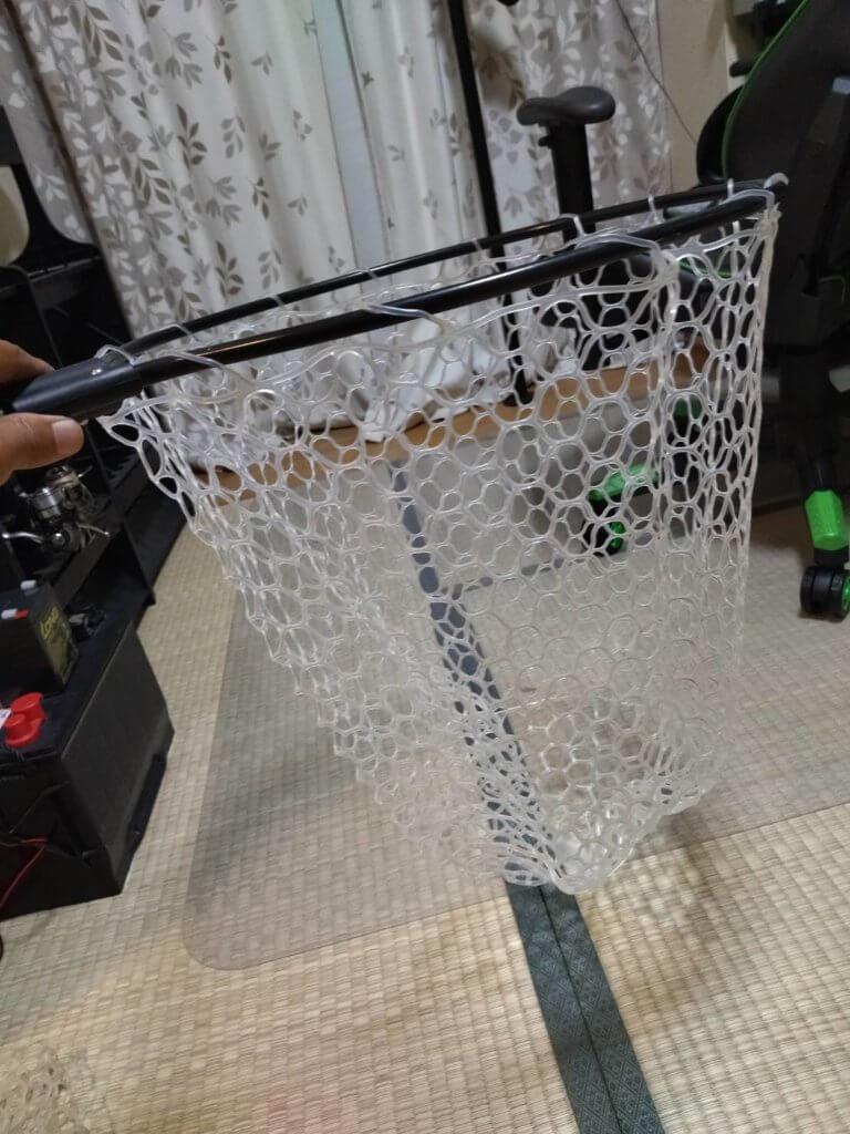 新しいネットは深さ45cm