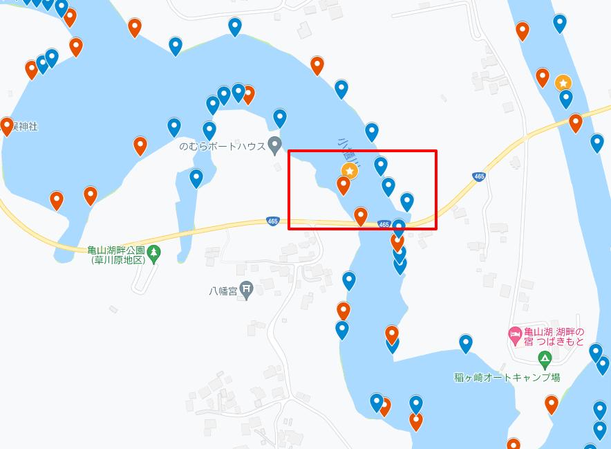 亀山大橋~藤林大橋